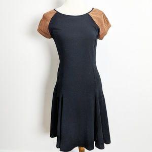 Lauren Ralph Lauren Black Fit and Flare Dress